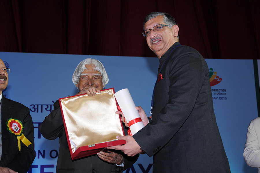 AWARD FOR EXCELLENCE TO STATES: Jammu & Kashmir