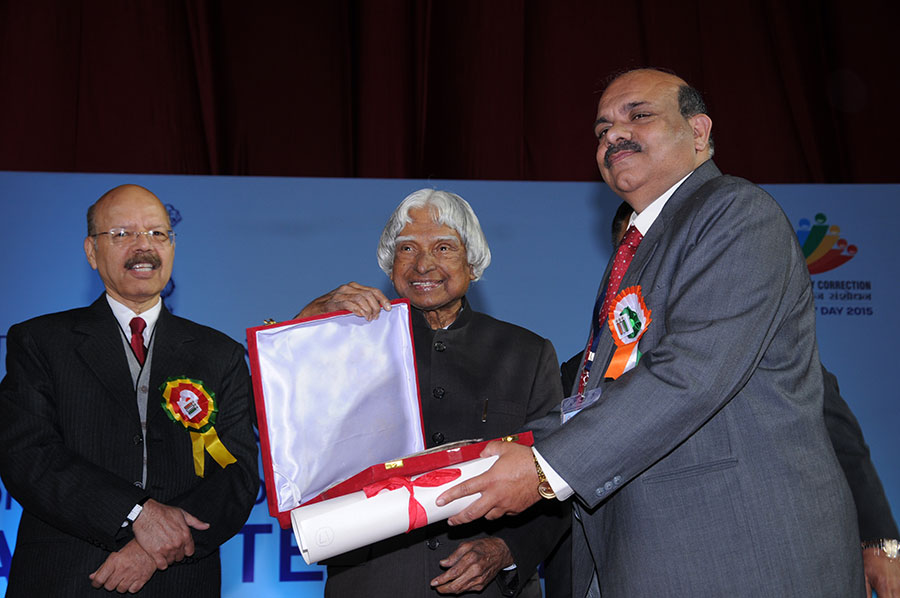 AWARD FOR EXCELLENCE TO STATES: Madhya Pradesh