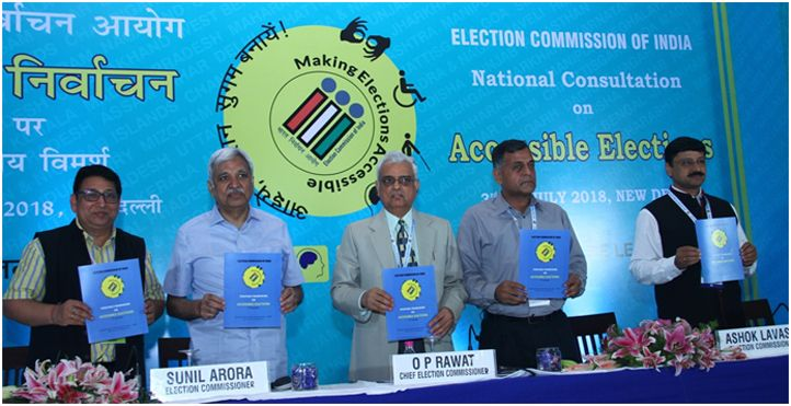 The Commission unveiling Strategic Framework on Accessible Elections