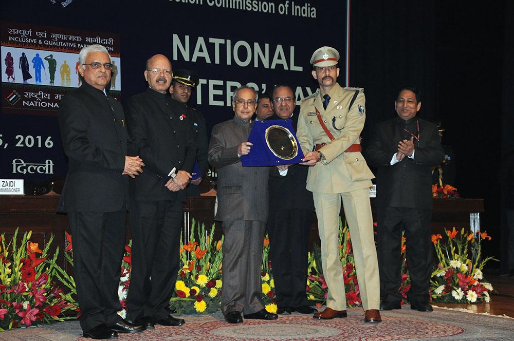 Manu Maharaj, SSP, Gaya, Bihar