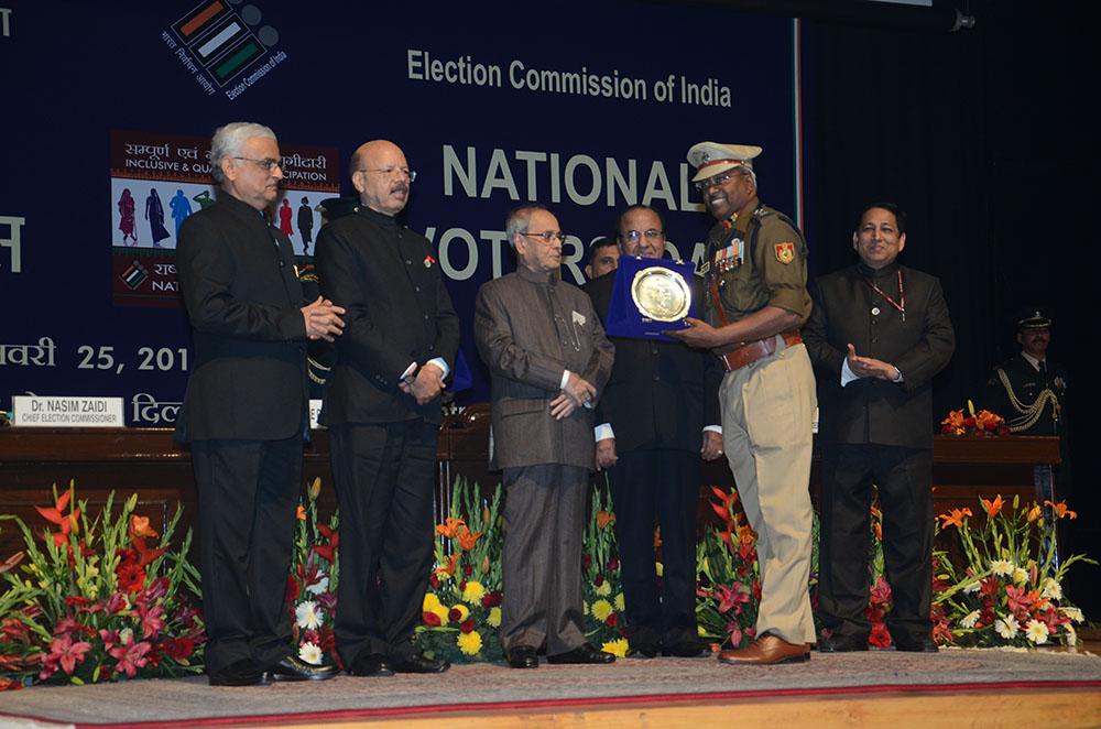 Sh.Sharat Kumar Sinha, DCP, Delhi