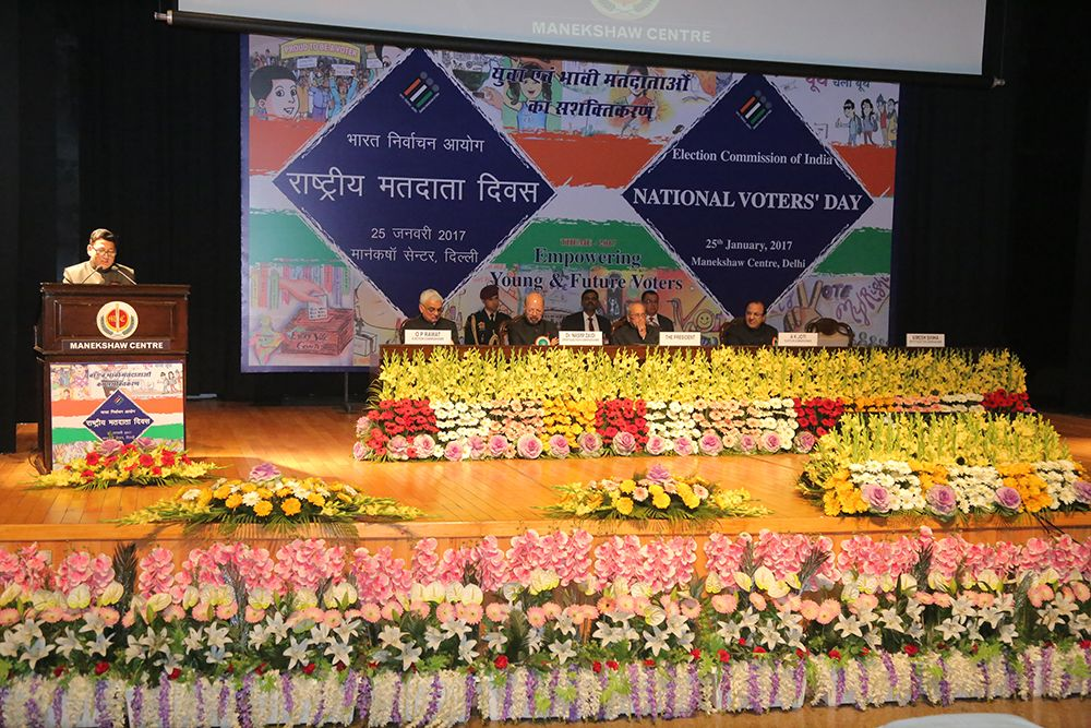 Vote of thanks by DEC, Shri. Umesh Sinha at the 7th National Voters' Day