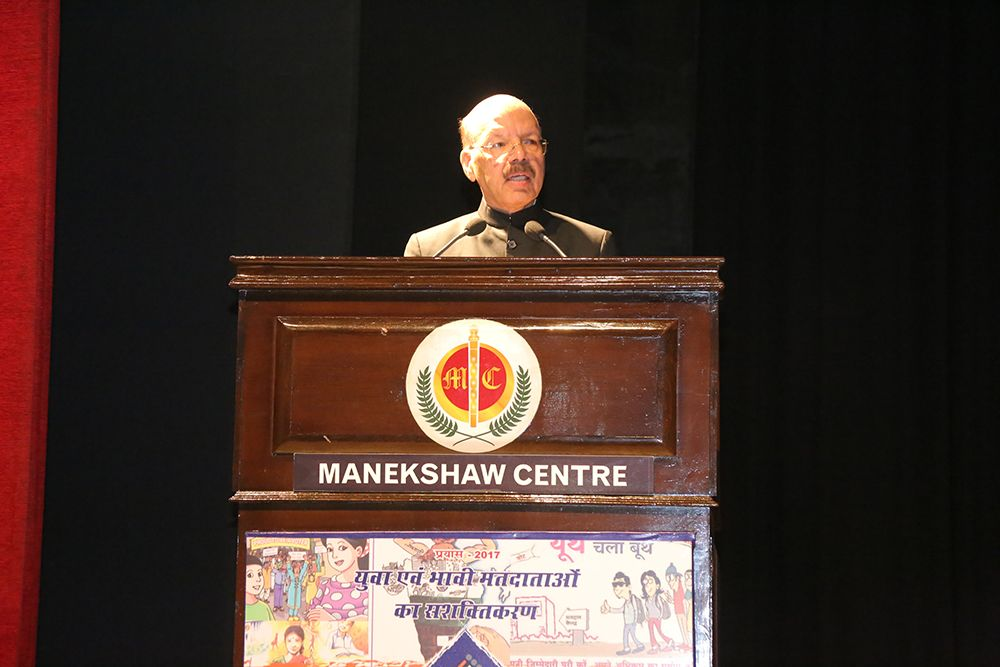 CEC, Dr. Nasim Zaidi at the 7th National Voters' Day
