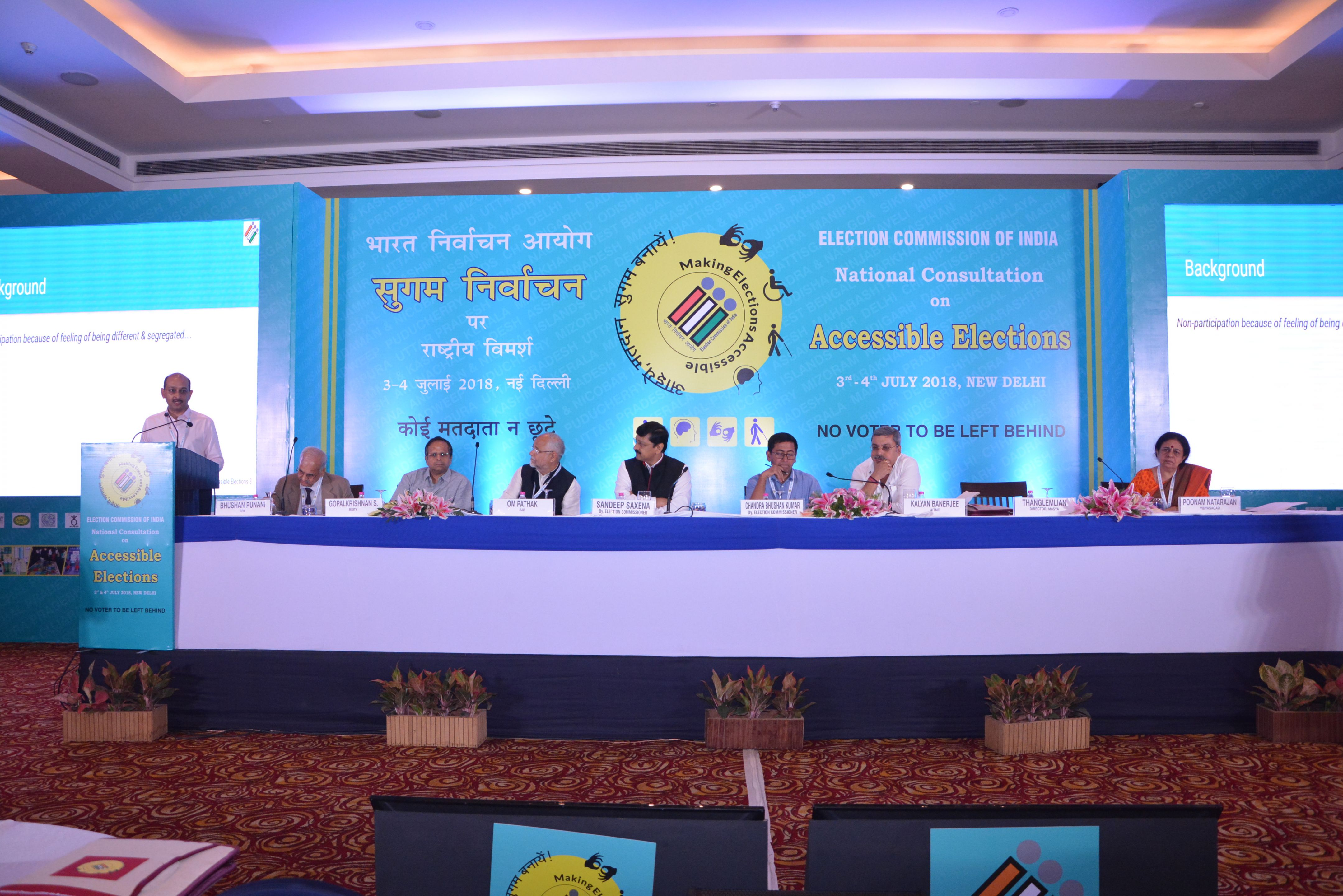Day 2 - Panelists for the first thematic discussion