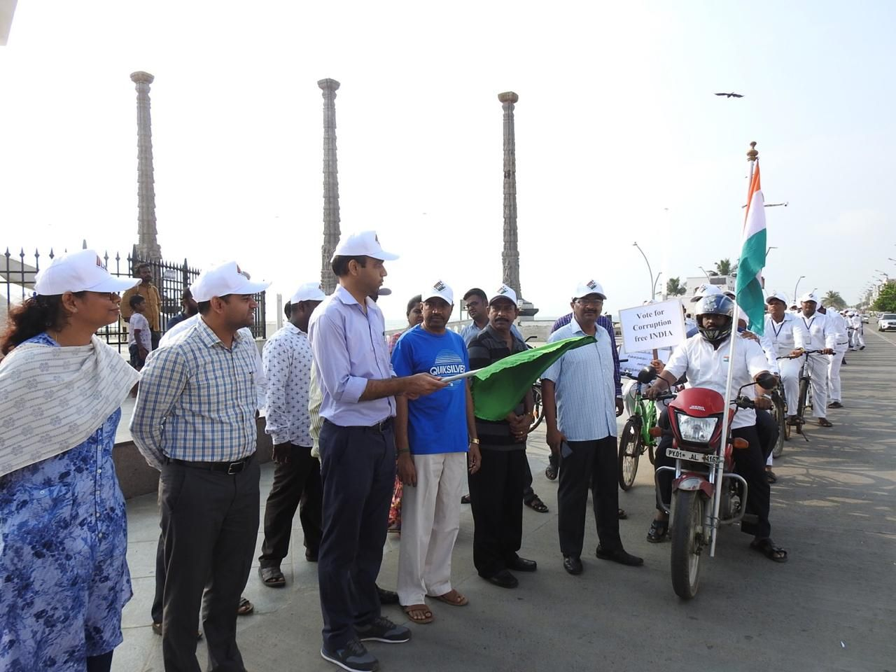 Cycle Rally organised by Amalorvapam School ELC Members to promote Voter Awareness for Special Summary Revision 20194