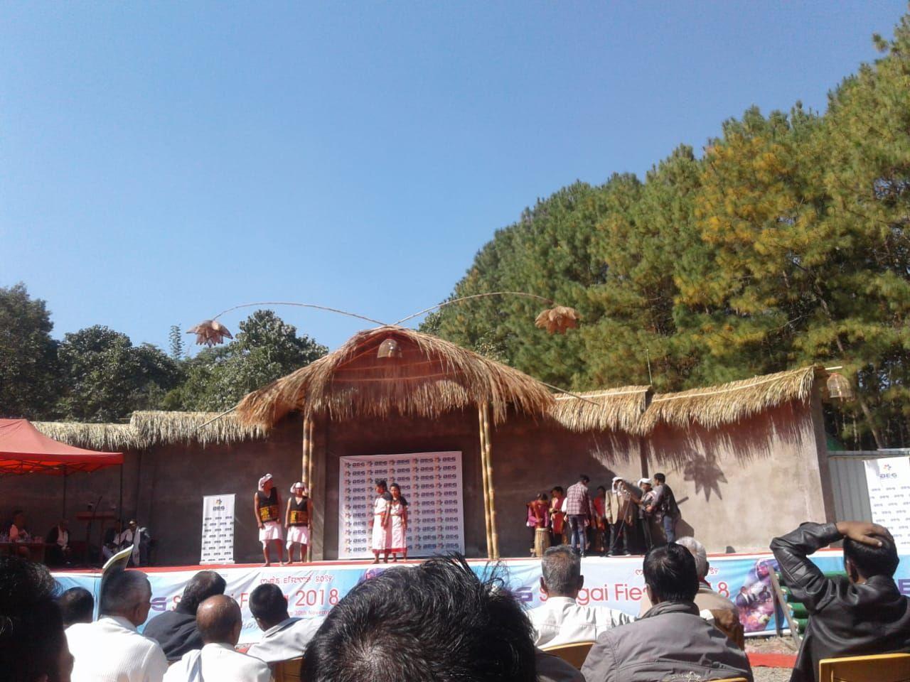 Sangai festival related with SVEEP Senapati