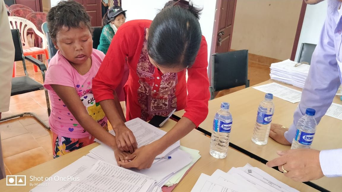CHANDEL SVEEP Divyang-Voters SSR 2019