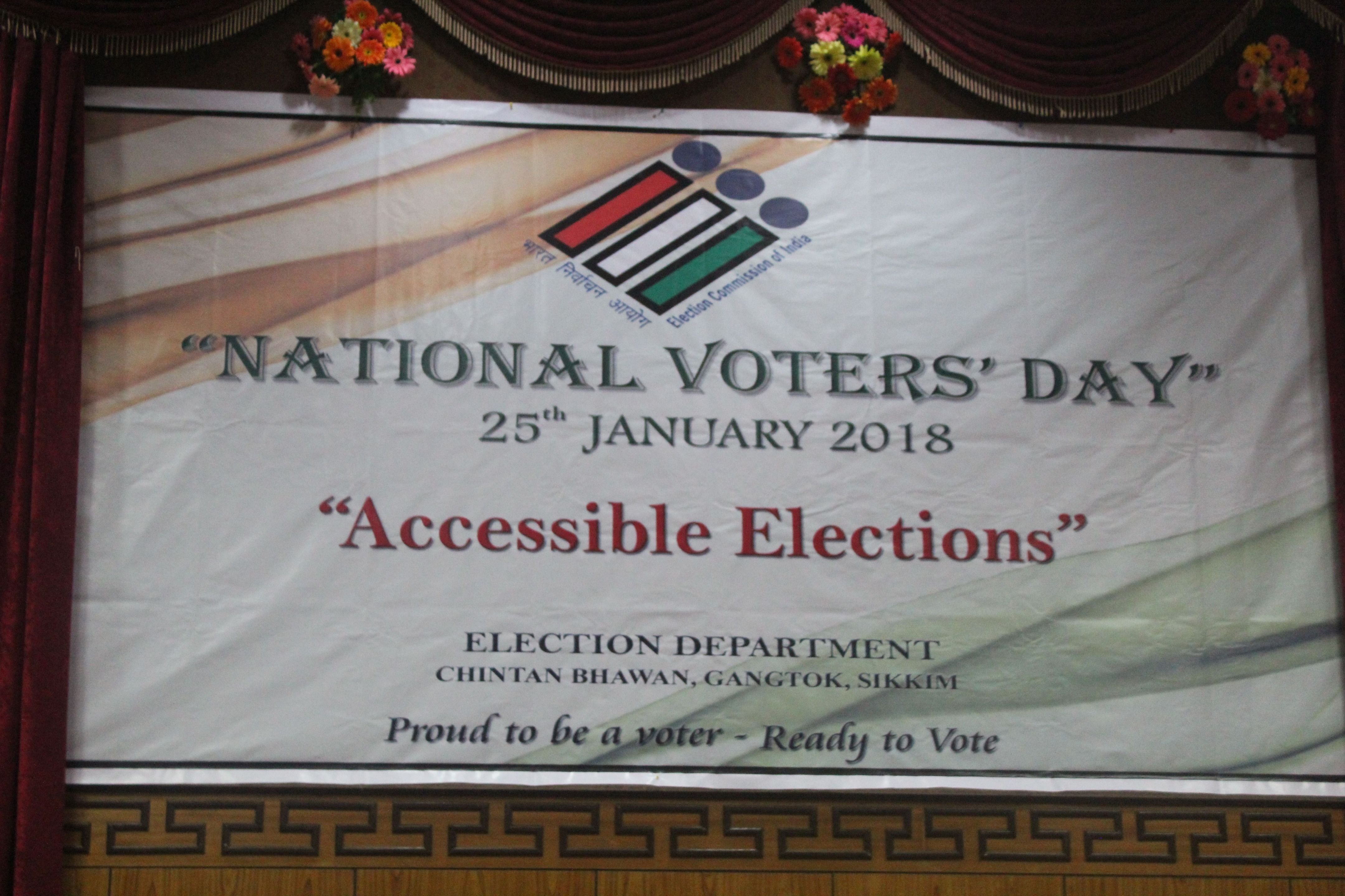 NATIONAL VOTER'S DAY 2018