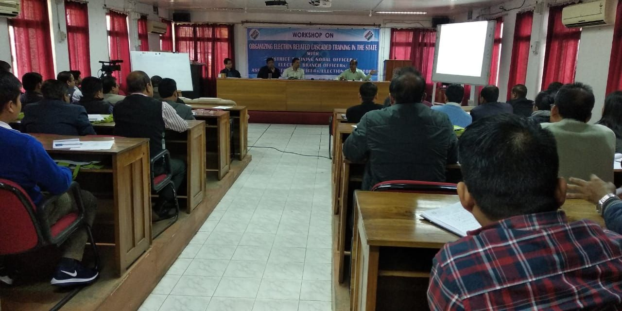 Training of District Training Nodal Officer and other officials have been conducted on 2nd January2019