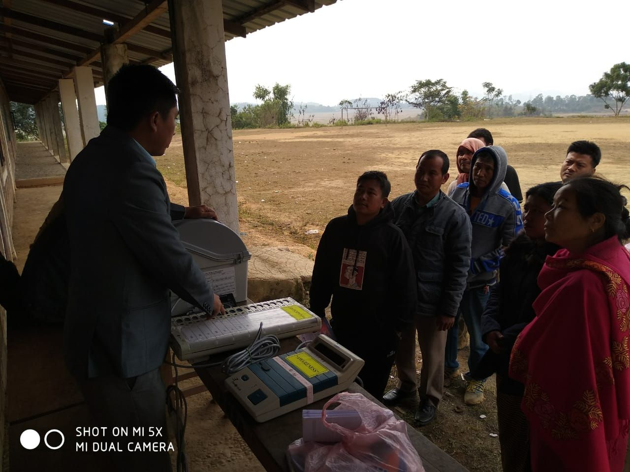 EVM and VVPAT Familiarization at 42AC(ST) under SVEEP programme for EVM and VVPAT