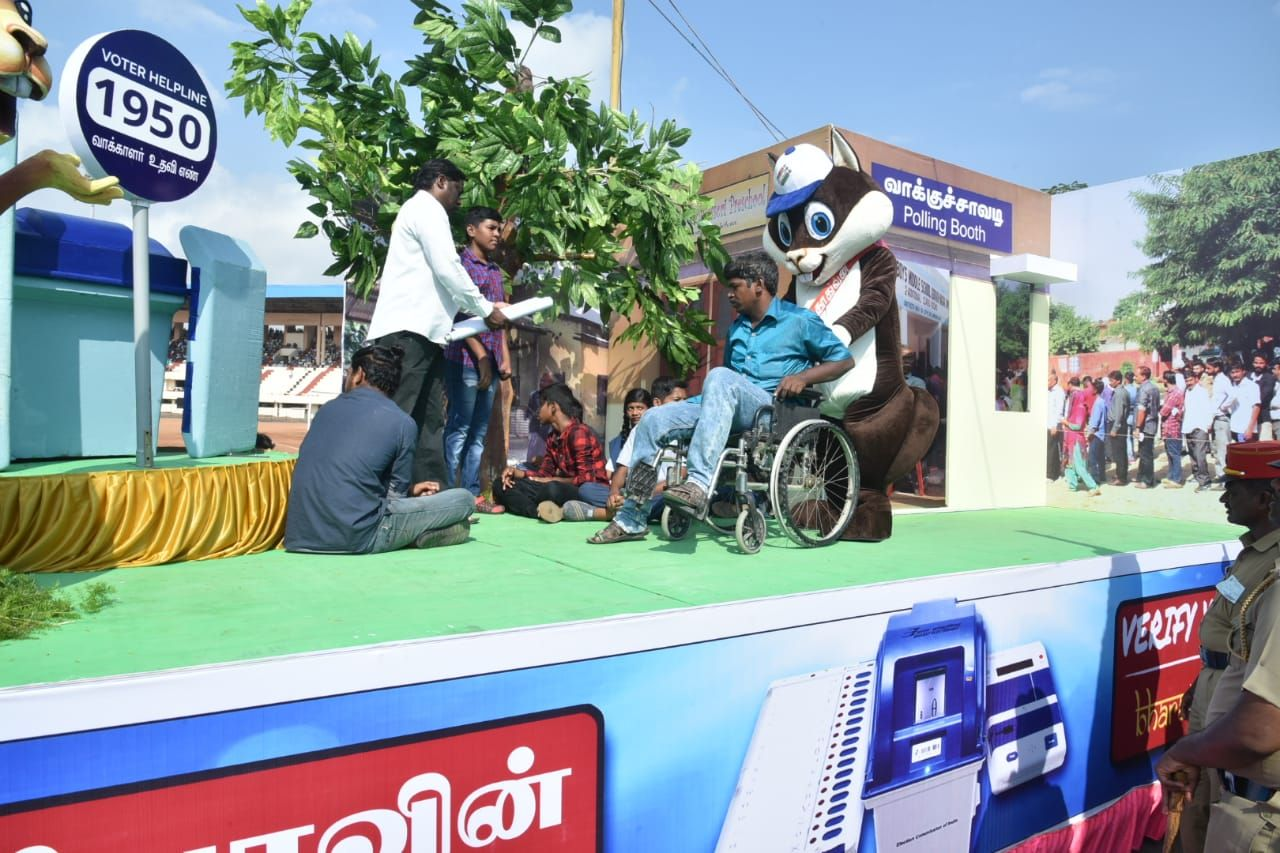 Demonstration of inclusive and accessible Elections