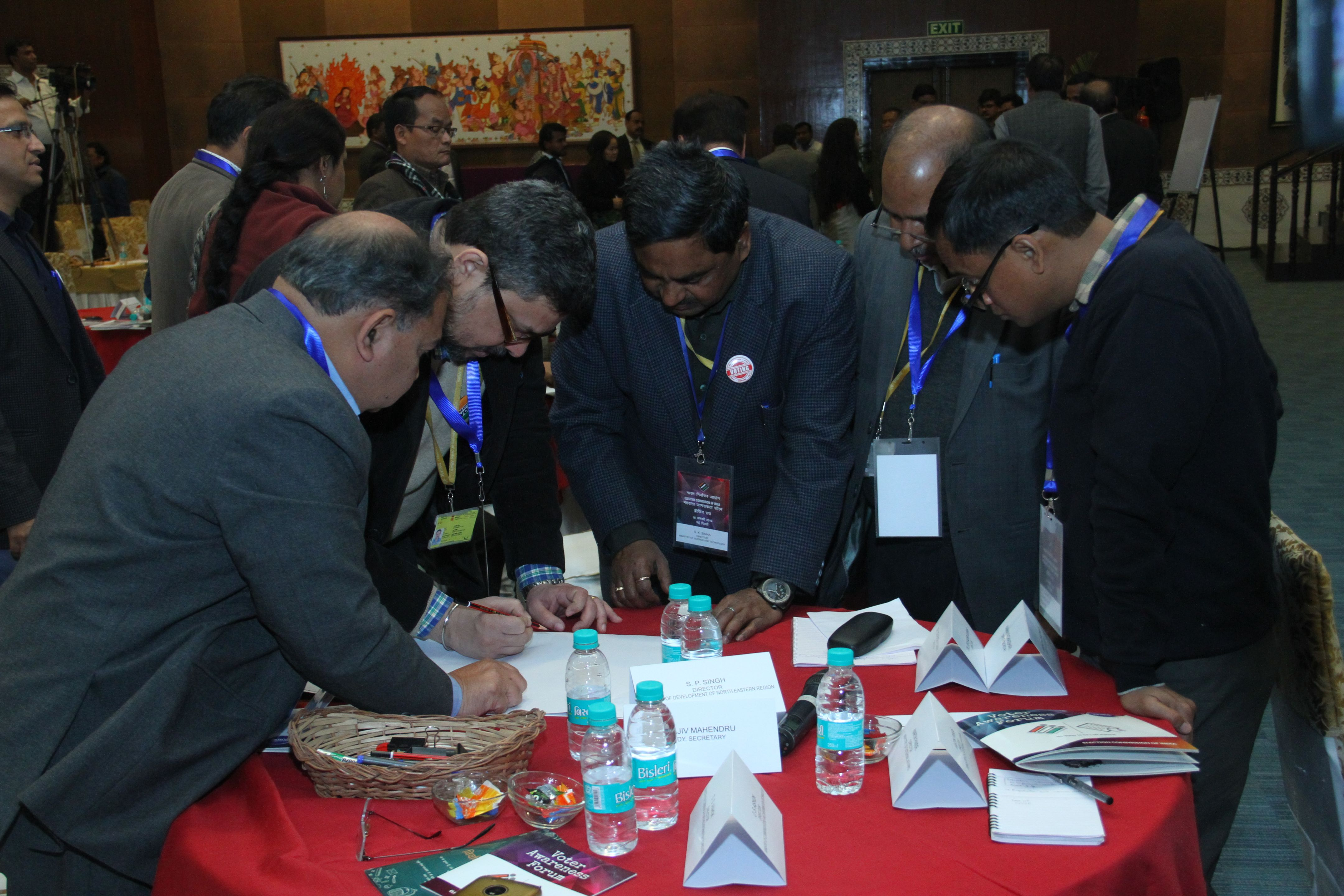 Delegates participating in Build the Ballot activity.JPG