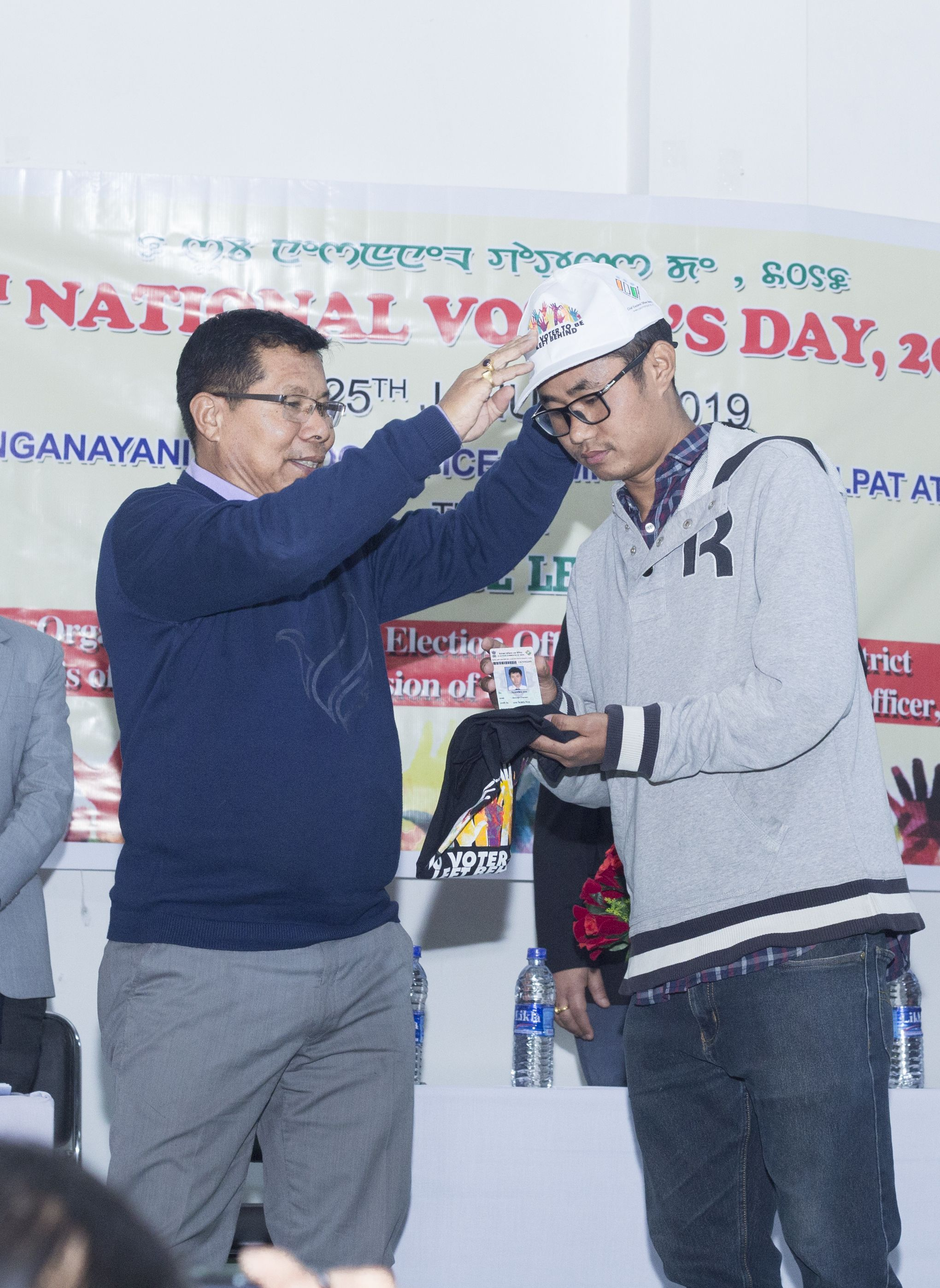Distribution of EPIC, NVD Cap & T-Shirt by ADM