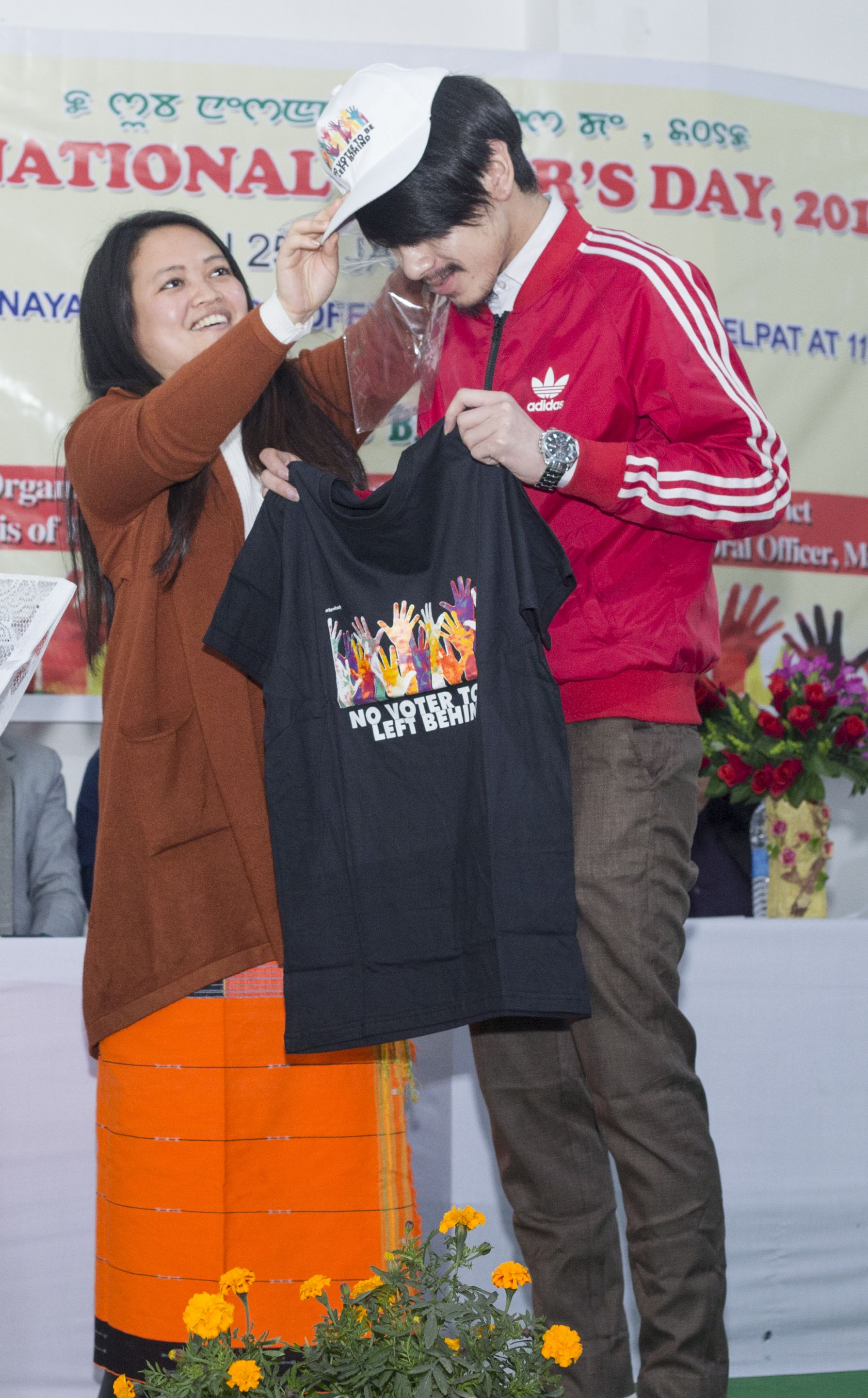 Distribution of EPIC, NVD Cap & T-Shirt by ERO-9&11/SDO Lamphel