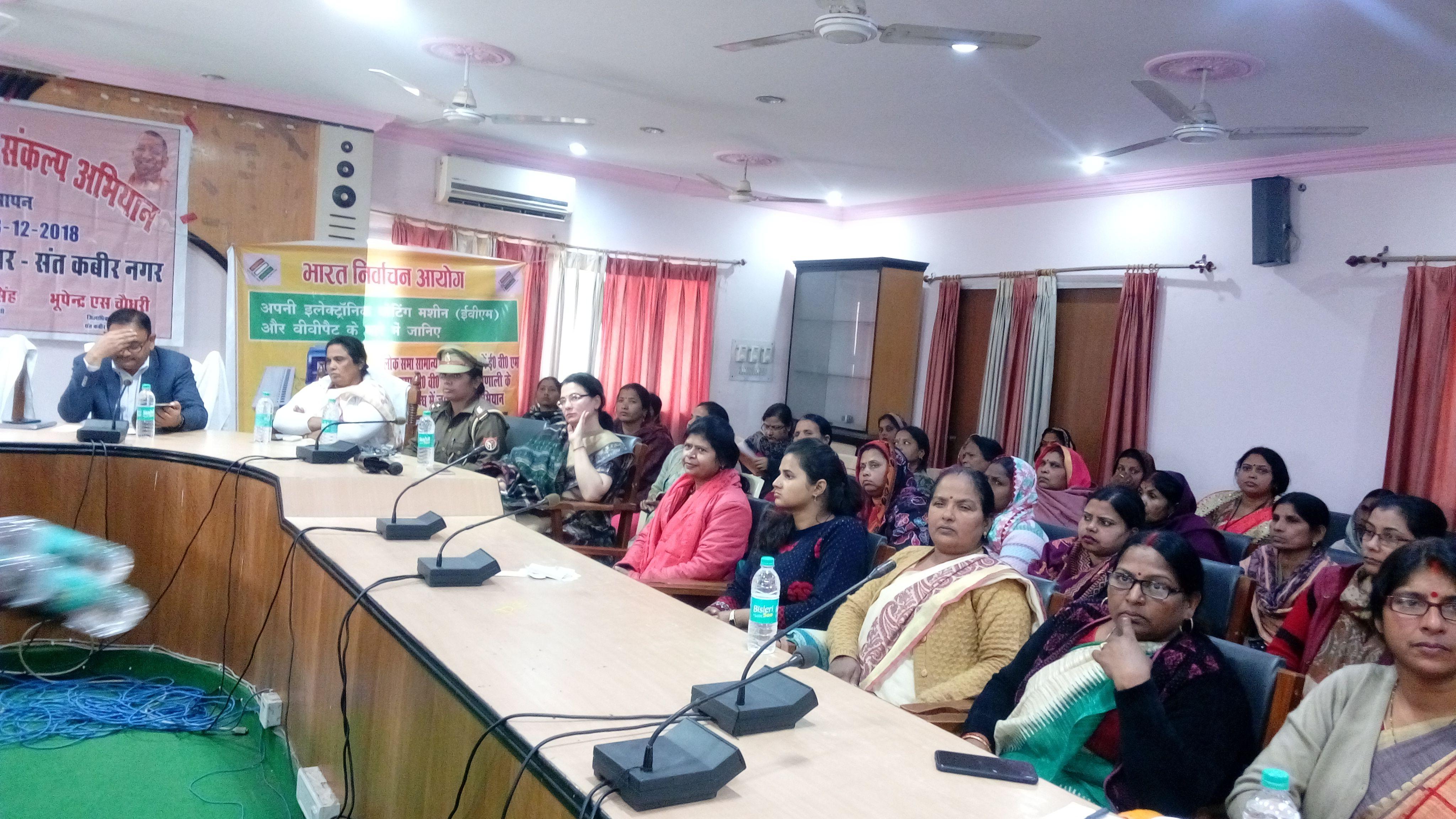 Training given by Master Trainer at Mahila Shasaktikaran Day