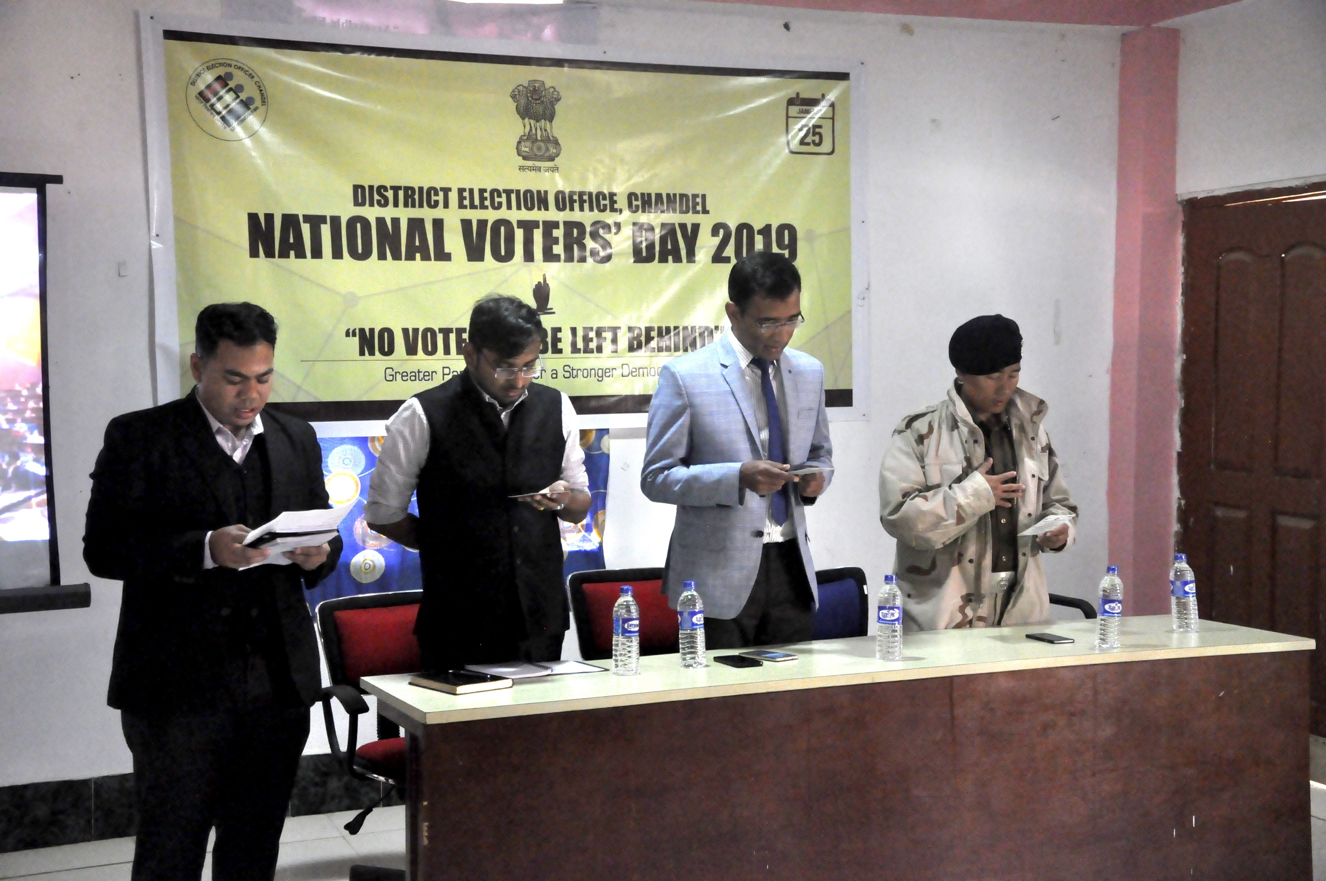 National Voters Day 2019 @ CHANDEL DISTRICT