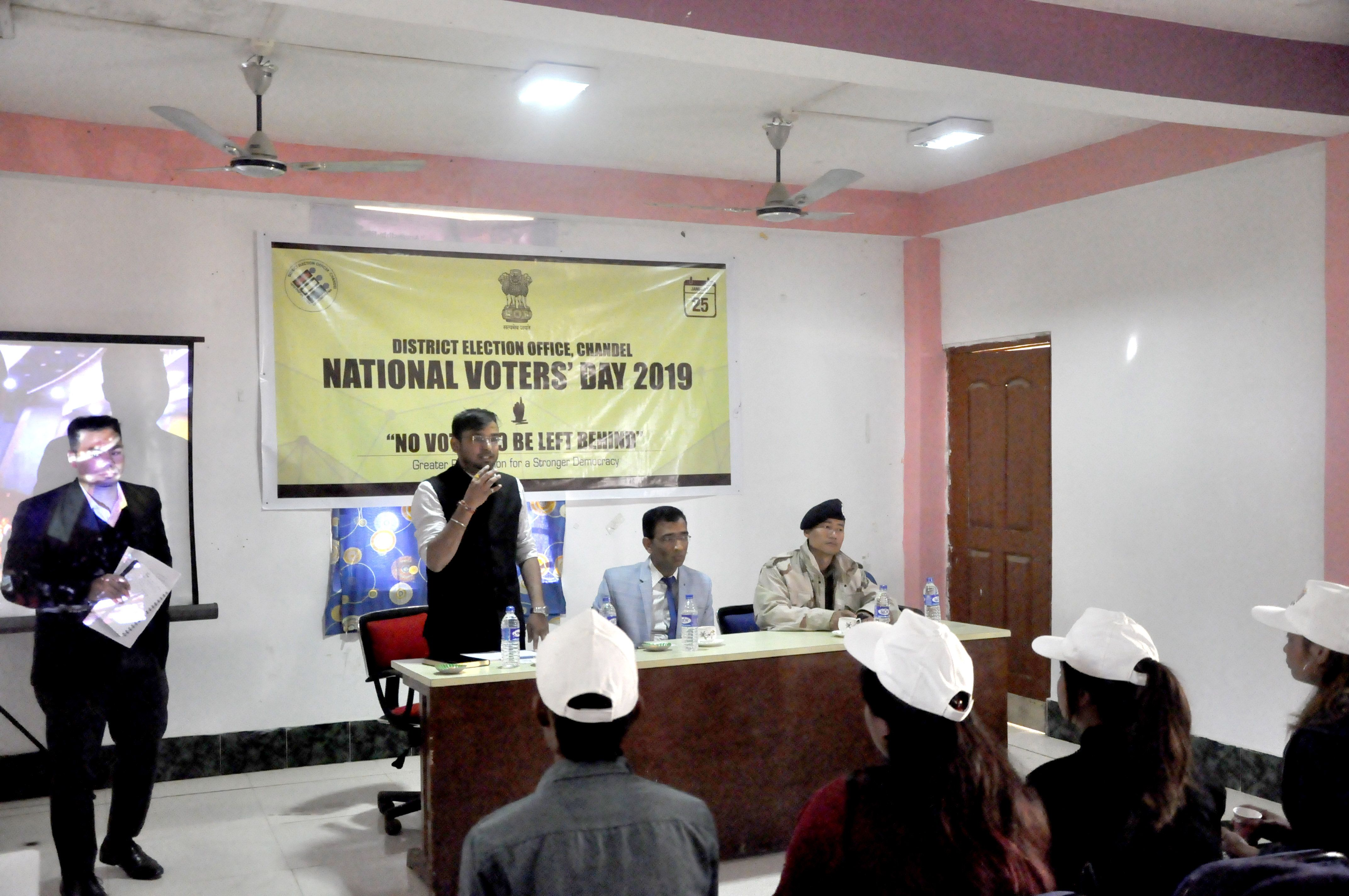 National Voters Day 2019 @ CHANDEL DISTRICT 25 January