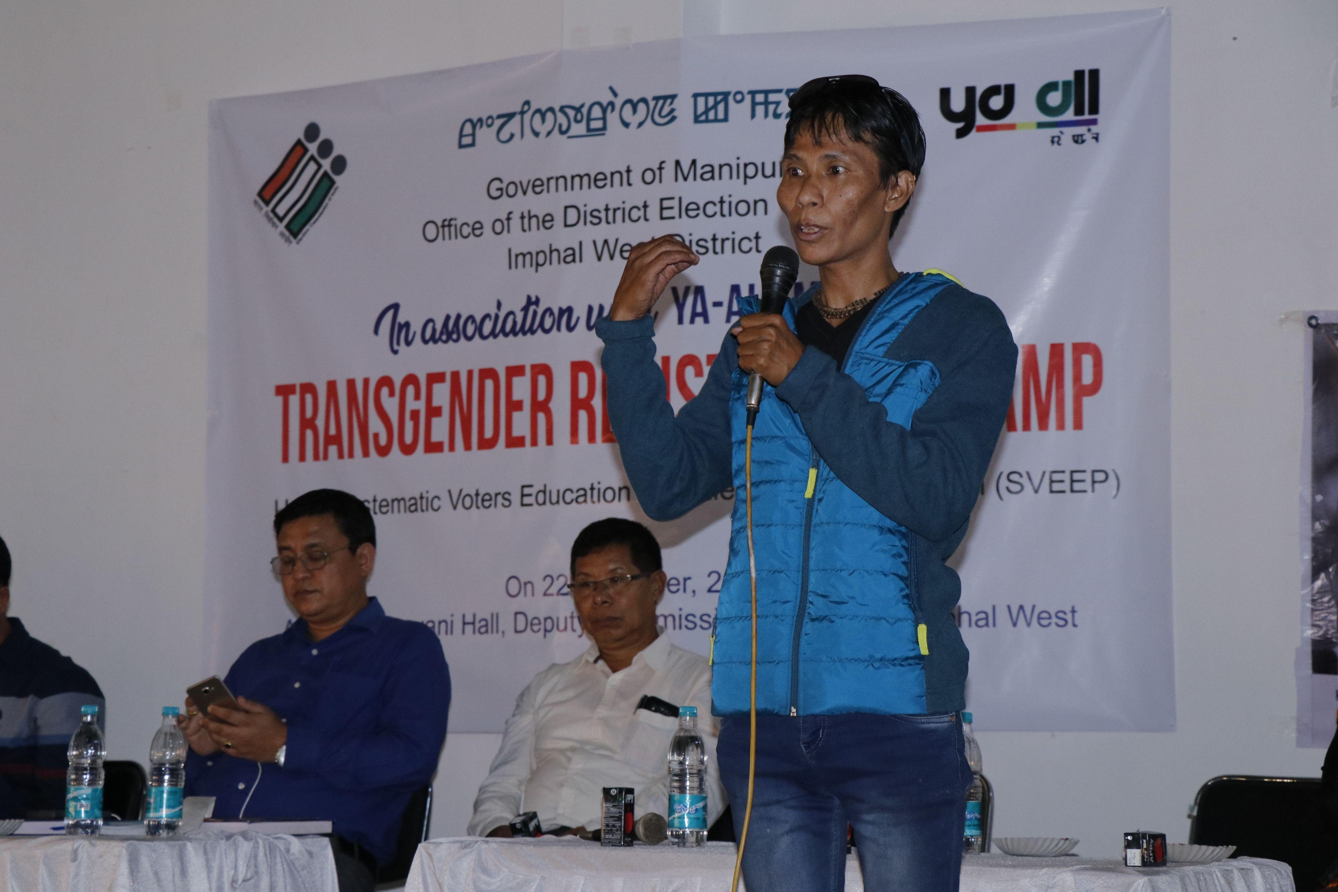 Transgender Registration Campaign