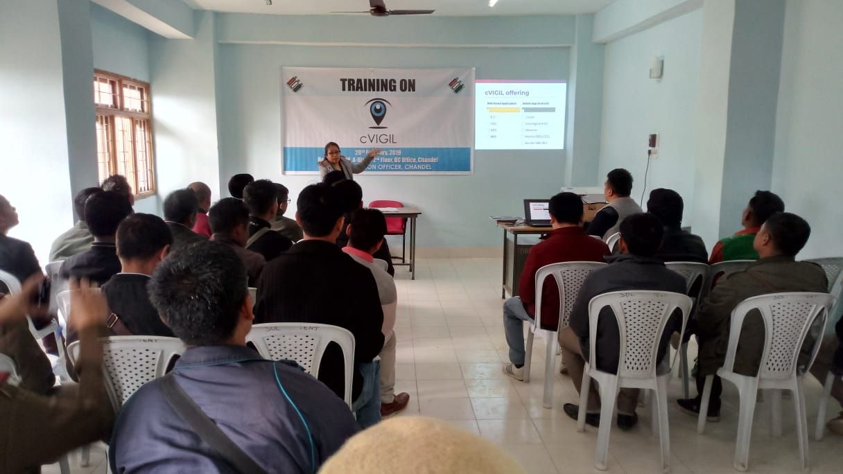 cVIGIL Training Chandel District (6)