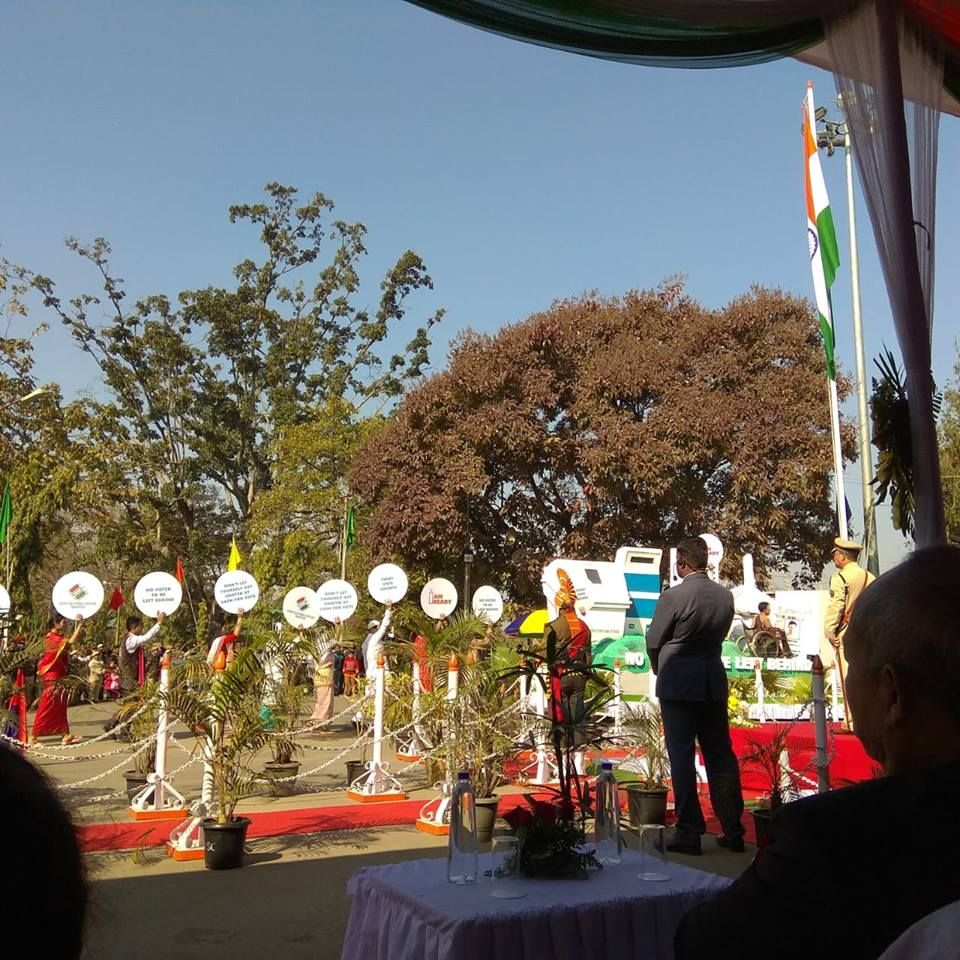 CEO Manipur Tableau at the Republic Celebration_3