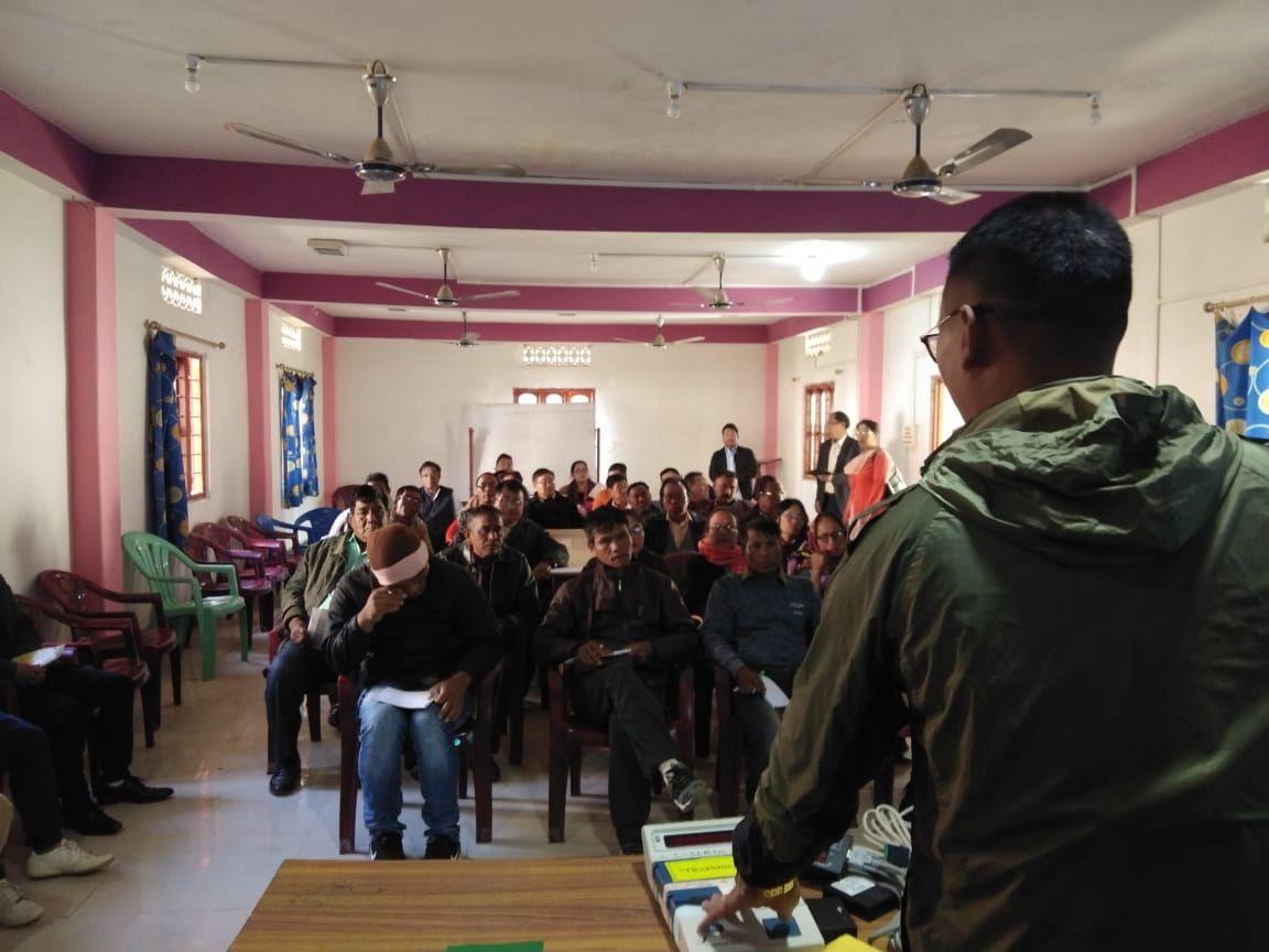 Chandel DEO office Polling personnel training-EVM- VVPAT (8)