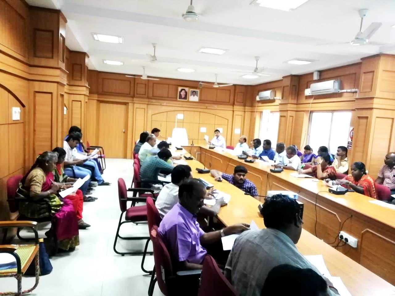 Poll Day Arrangements Training -Namakkal