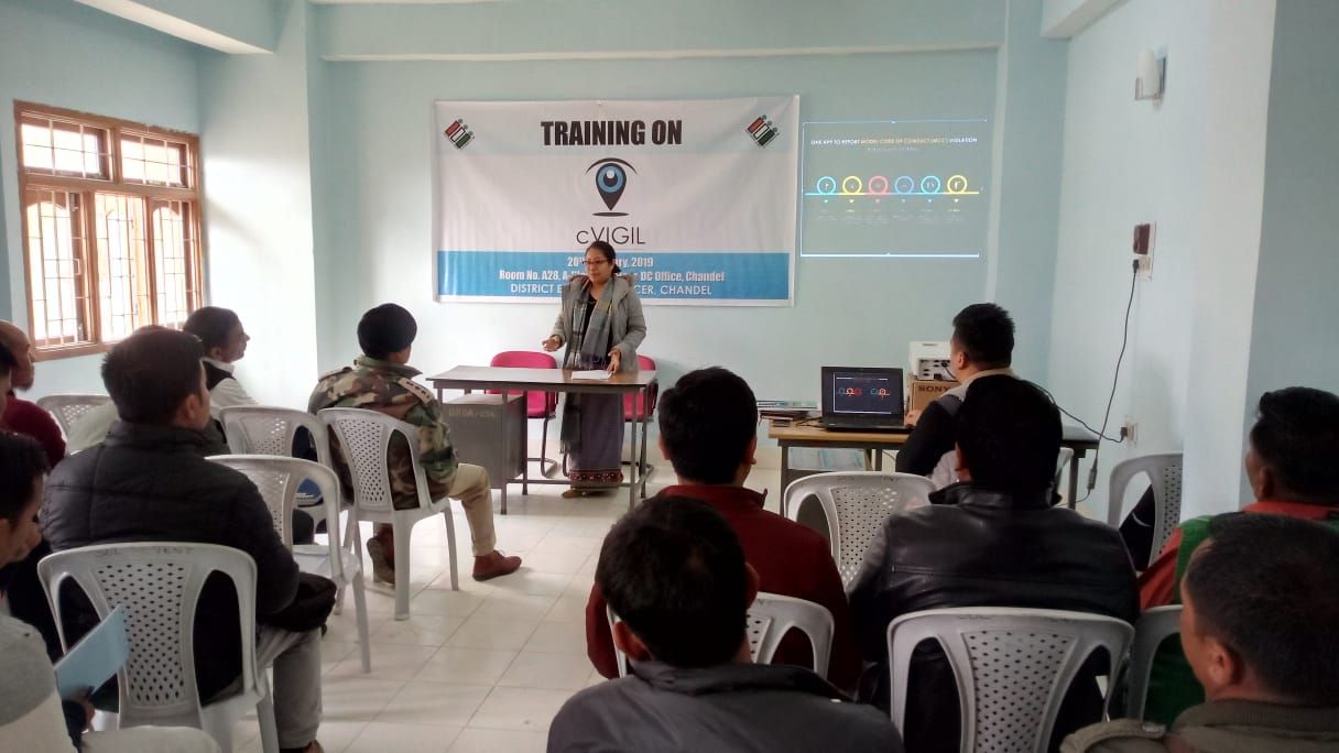 cVIGIL Training Chandel District (3)