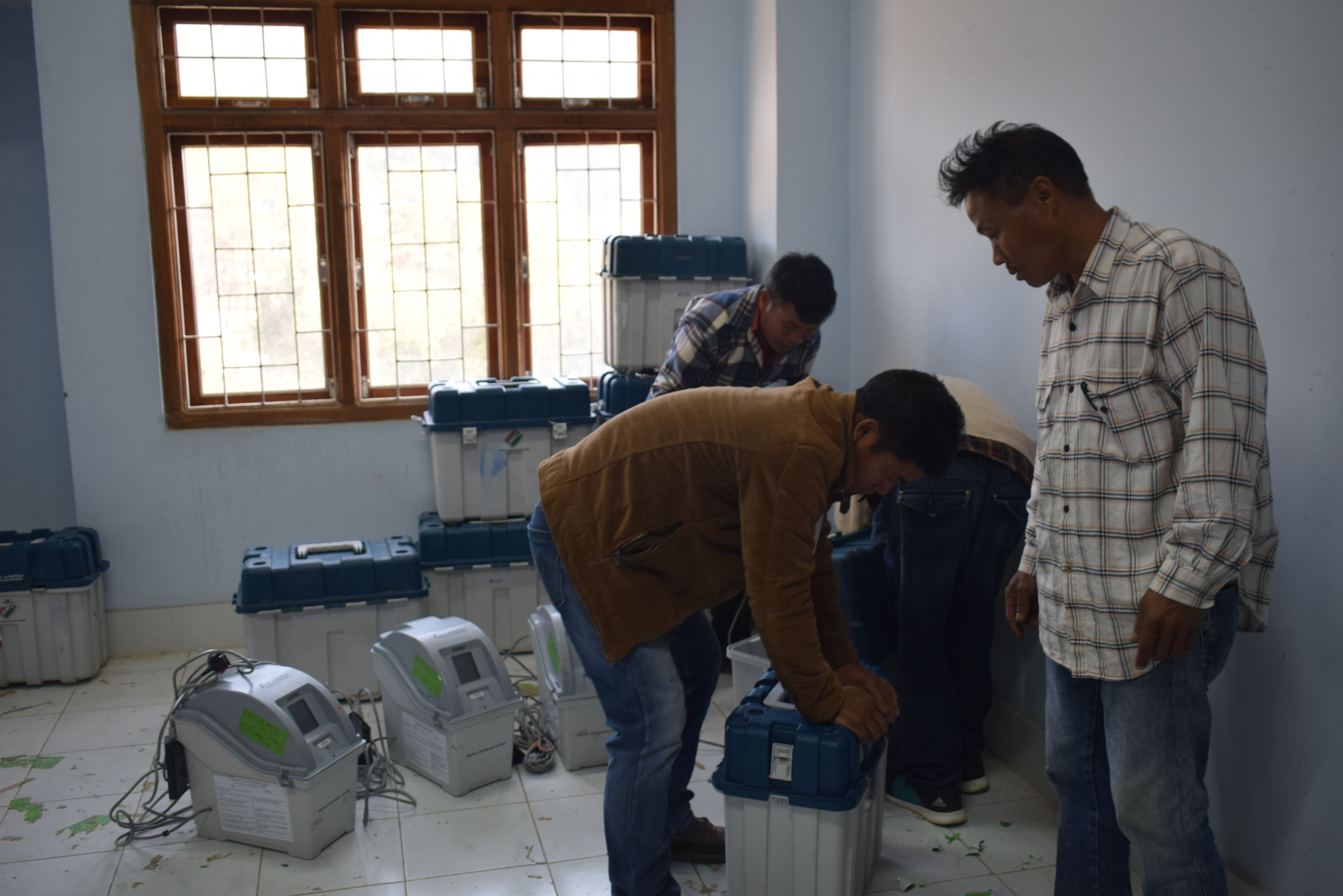 First Level Checking of EVM & VVPATs for Chandel District (6)