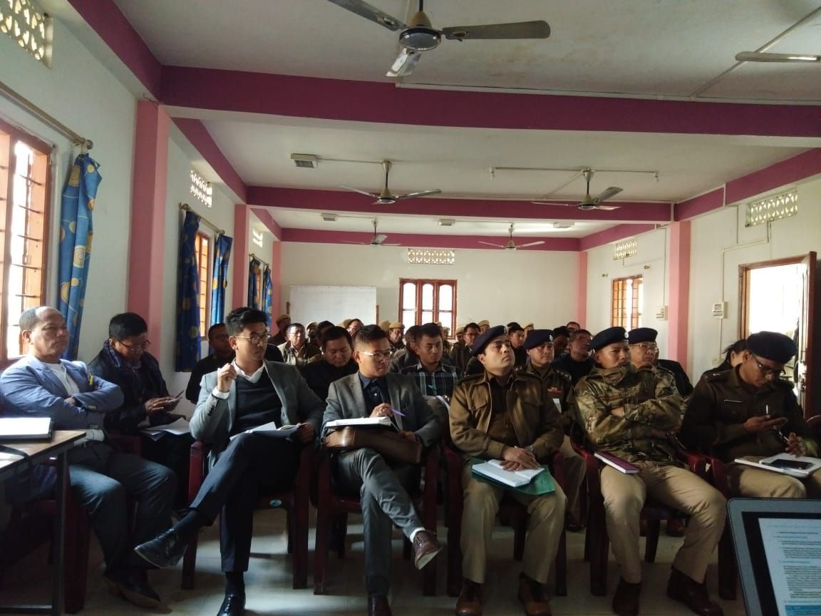 Chandel DEO office Polling personnel training-EVM- VVPAT (5)