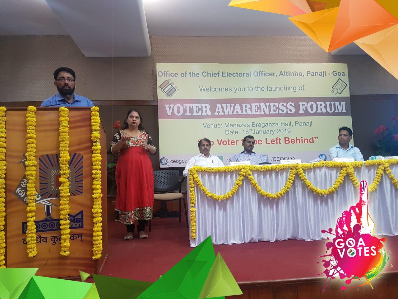 Voter Awareness Forum