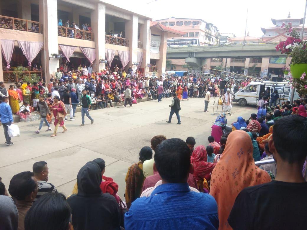 "Street Play ""Democracy Gi Kumhei"""