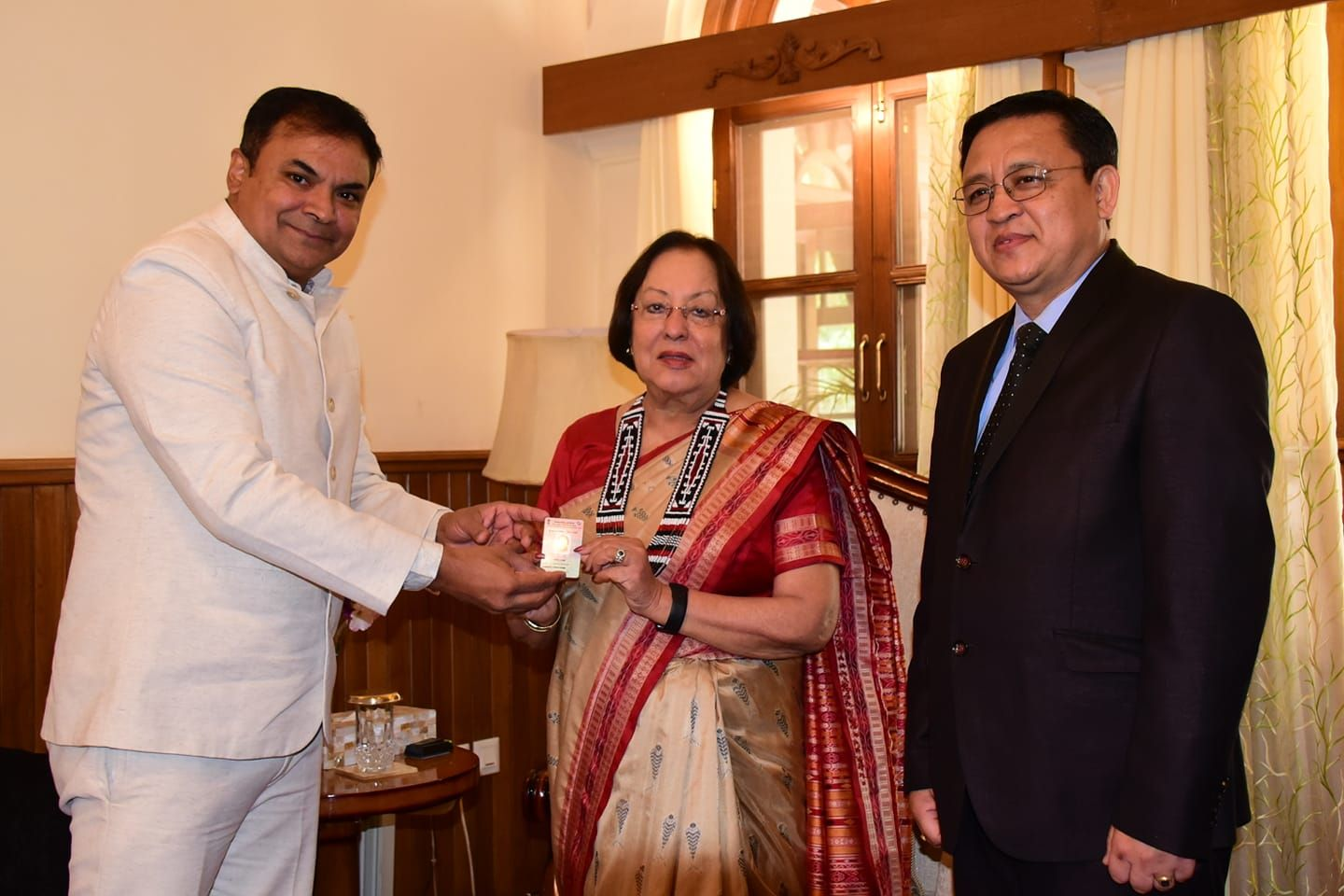 Governor of Manipur moves her vote to Manipur