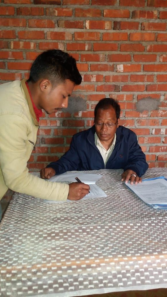 Chandel District Special enrollment camps for left out eligible voters (11)