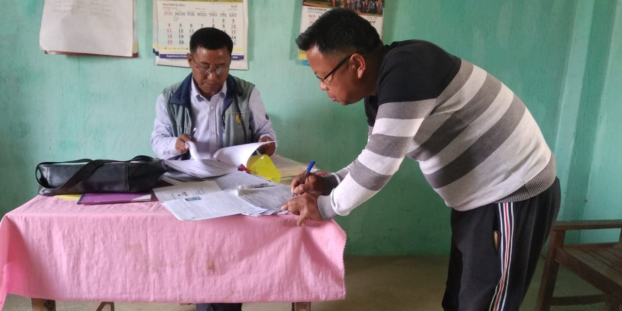Chandel District Special enrollment camps for left out eligible voters (13)