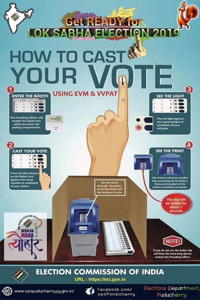 Get Ready for LOK  SABHA Election 2019