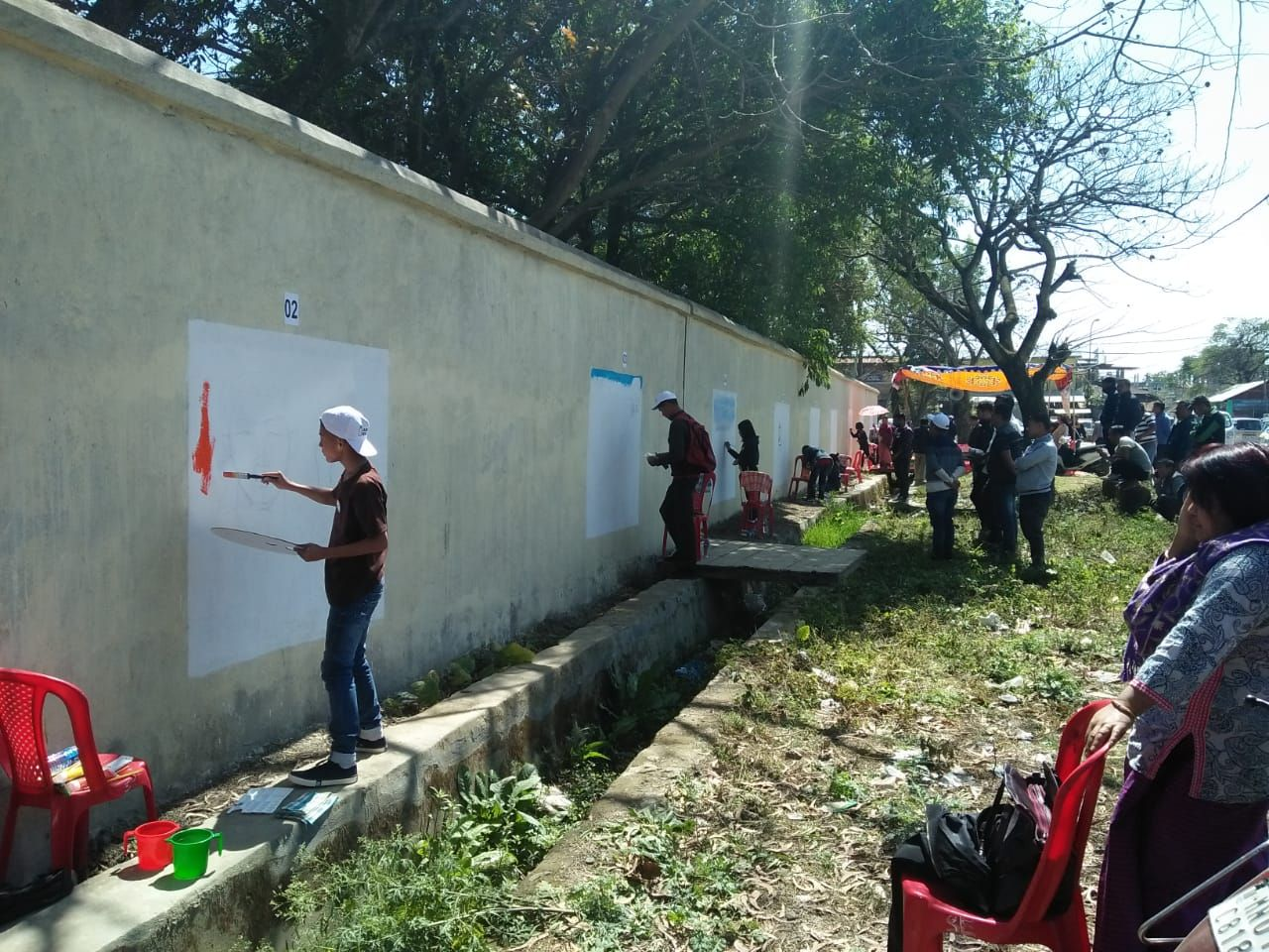 District Level Painting Competition