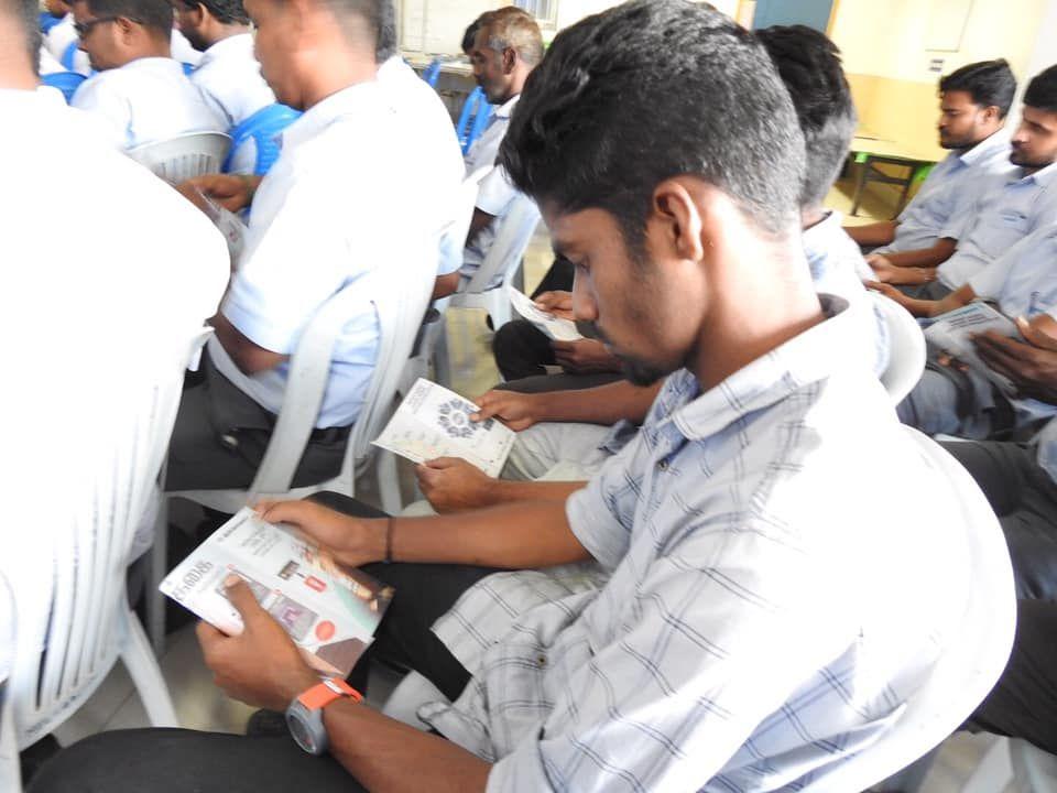 cVIGIL Mobile App Awareness Workshop & Pamphlets Distribution 1