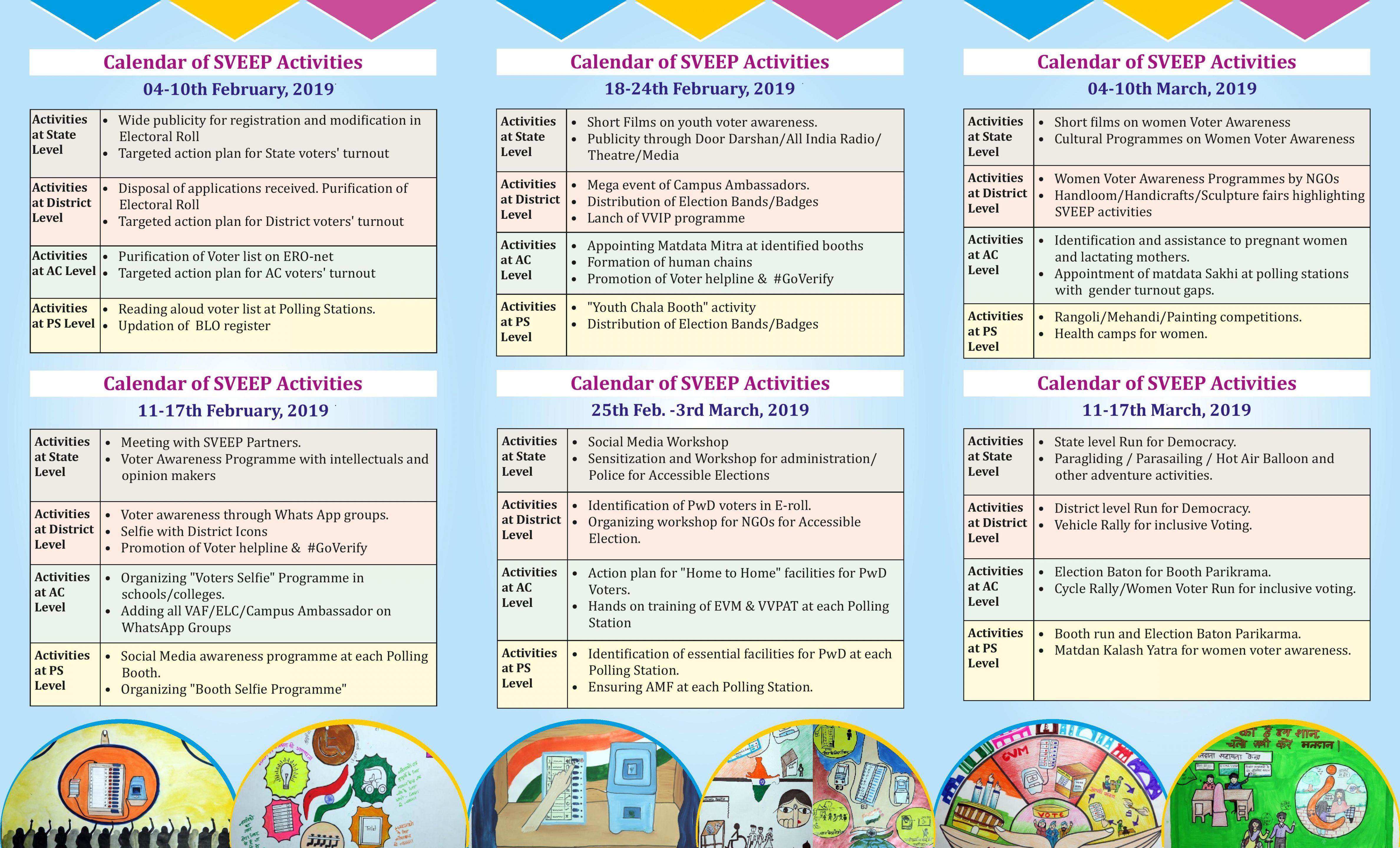 SVEEP Calendar - GE 2019