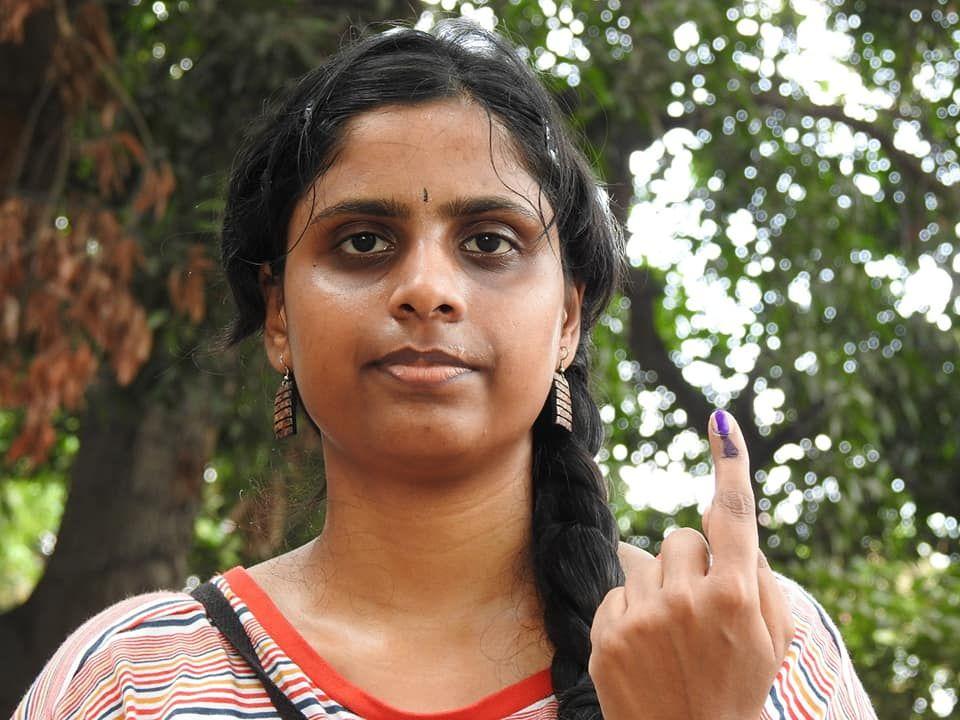 Snapshots of Polling at Thattanchavady Constituency, Pondicherry  5.jpg