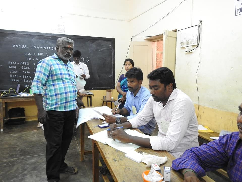 Glimpses of Polling at Muthialpet Constituency 1.jpg