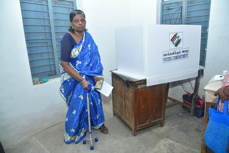 Glimpses of Polling at Puducherry 4.jpg