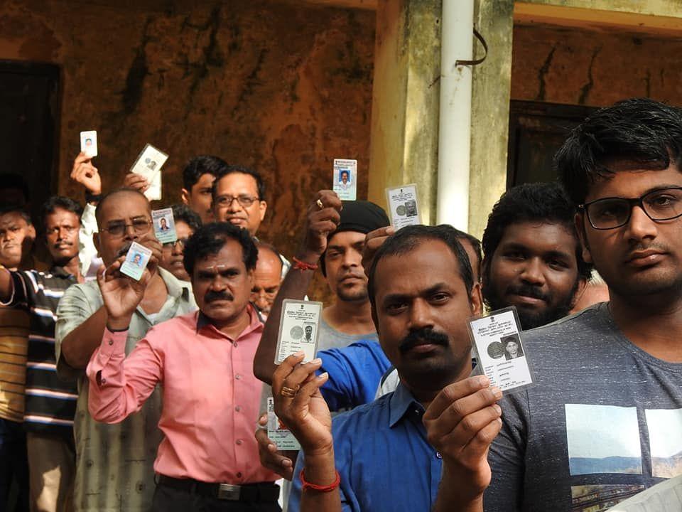 Snapshots of Polling at Thattanchavady Constituency-2, Pondicherry  3.jpg