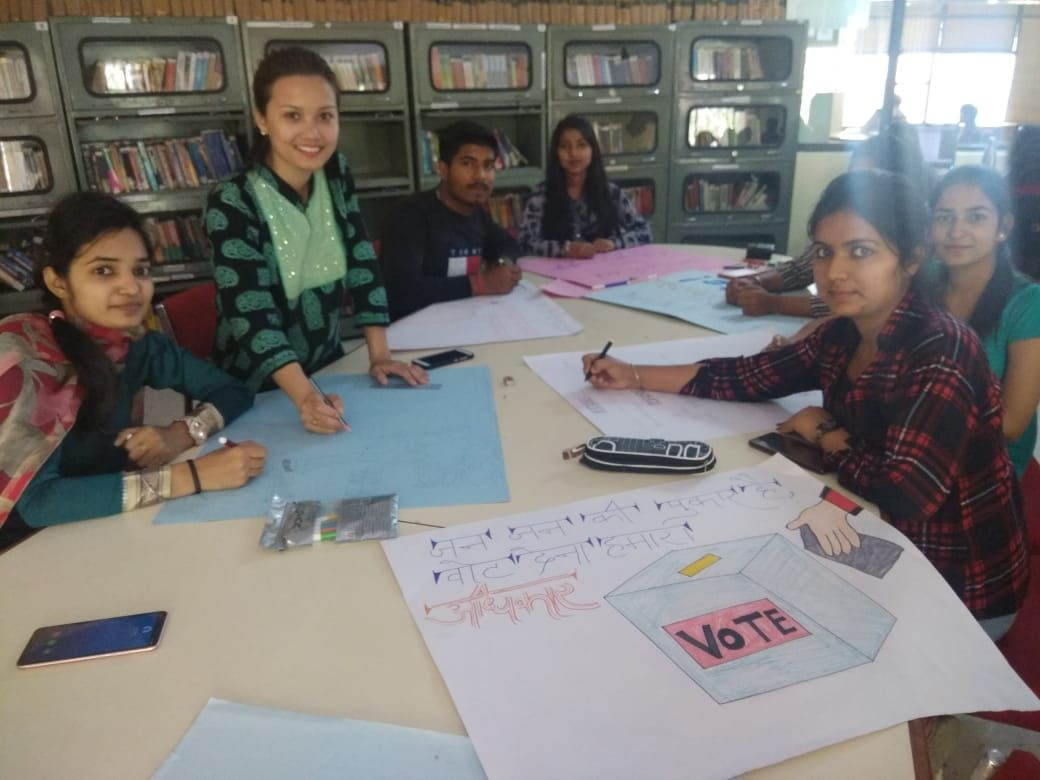 Poster making and awareness drive for first time voters at Gyan jyoti institute of management nd technology , Mohali (9).jpeg