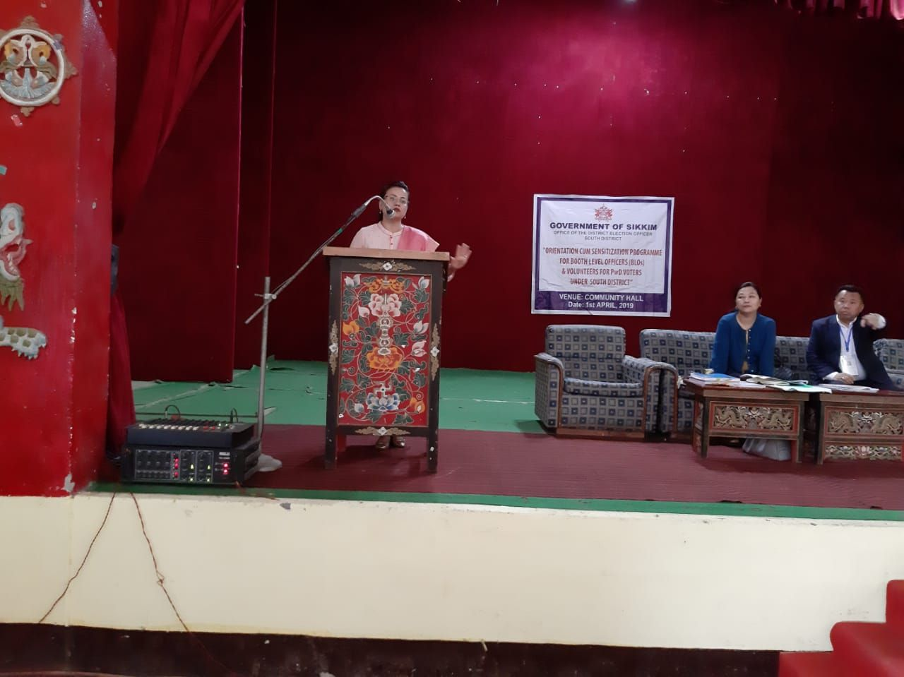 General Elections,2019 preparedness - Training of various officials involved in Election process