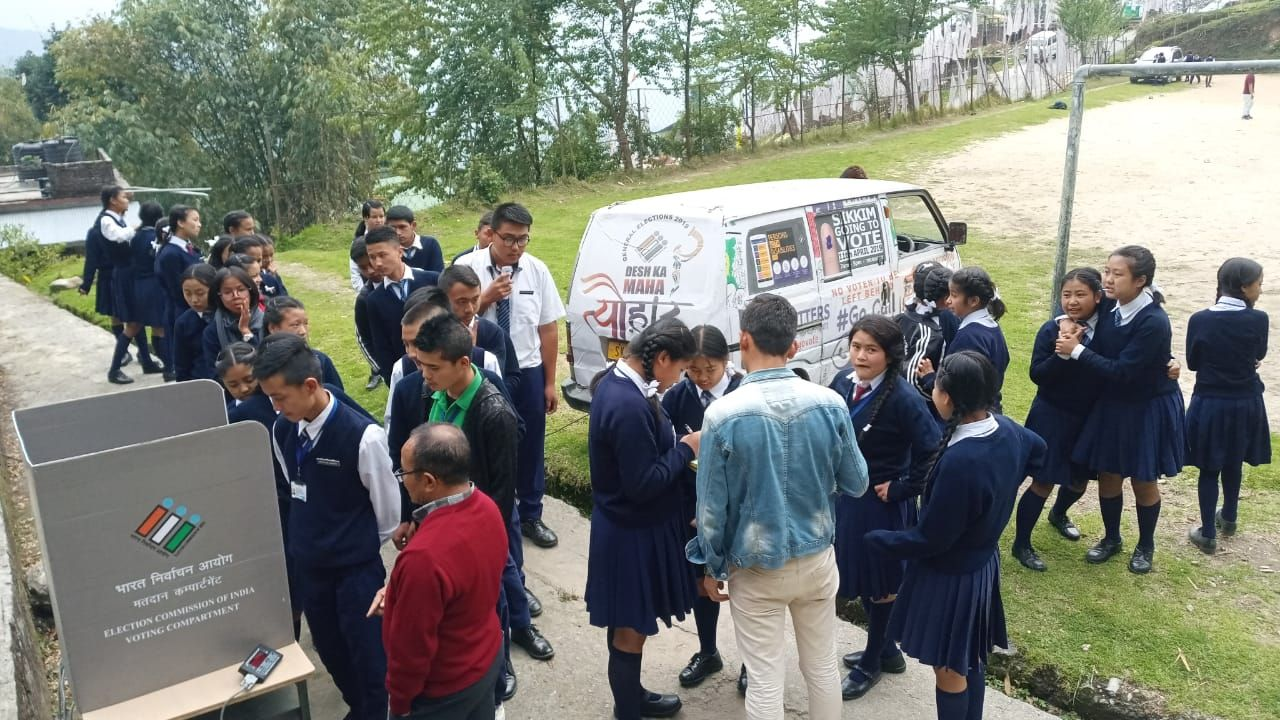 EVM & VVPAT awareness campaign in Educational Institutions