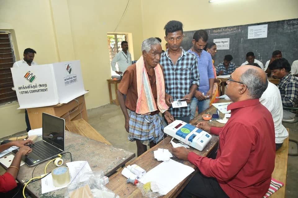 Glimpses of Polling at Puducherry 5.jpg
