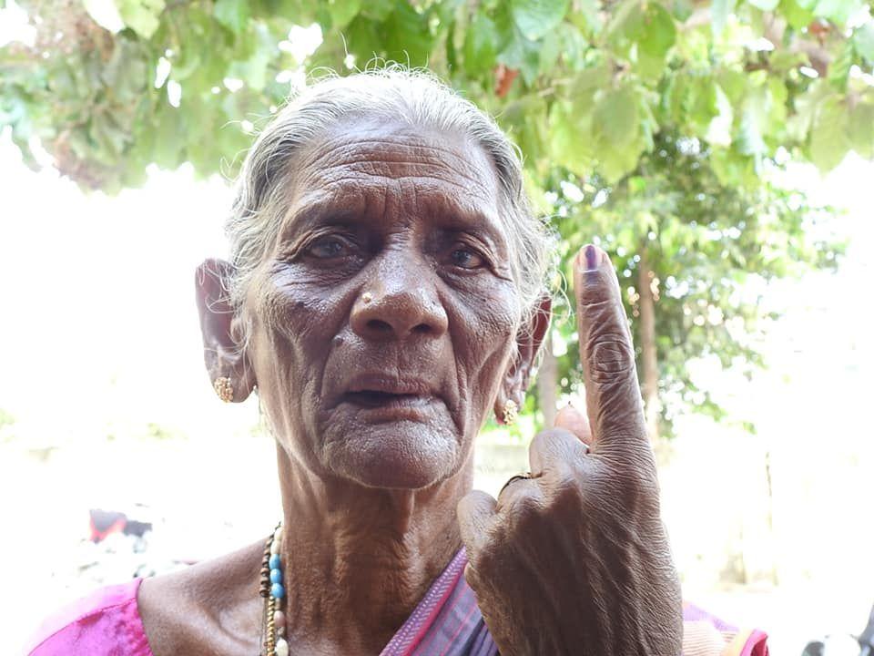 Snapshots of Polling at Thattanchavady Constituency-2, Pondicherry  1.jpg