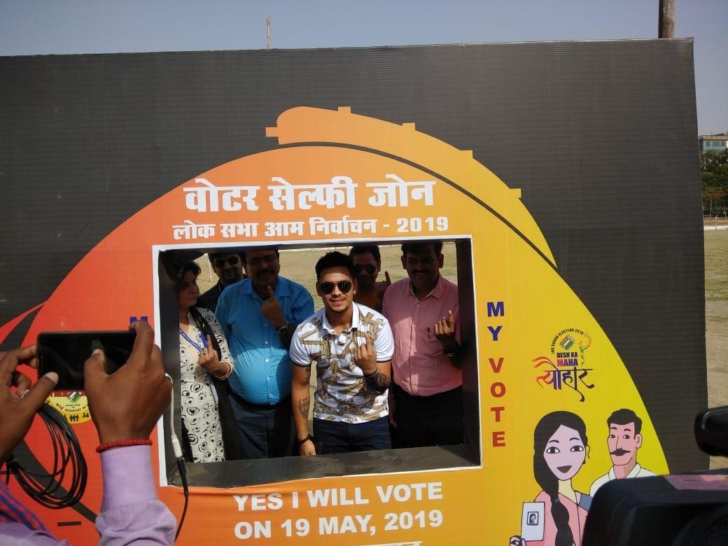 SVEEP PATNA- Voter Selfie Zone
