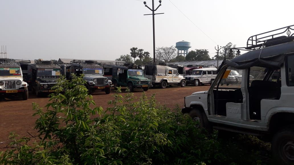 Vehicles ceased for election, DEO Pakur