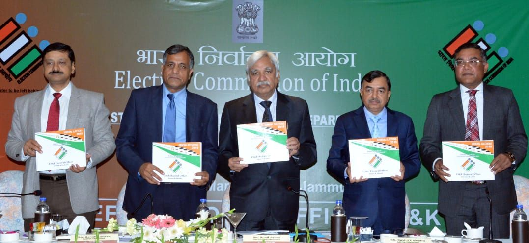 Hon'ble Commission releasing SVEEP Book on 5th March 2019 at Jammu & Kashmir.jpg